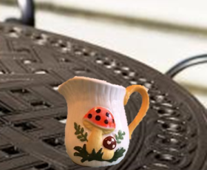 Gardening Dates Creamer Mushroom Design LawnSprinklersRepairs.Com